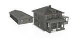 1/160TH N SCALE 3D PRINTED HOME 1223 Wall St. Port Huron MI