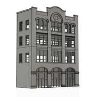 1-87TH HO SCALE BUILDING 3D PRINTED KIT MILWAUKEE WI BUILDING #20
