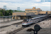 1-160TH N SCALE 3D PRINTED TOLEDO UNION STATION