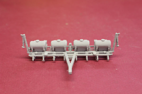 1-87TH HO SCALE 3D PRINTED JOHN DEERE 8-ROW WHEAT PLANTER/DRILL