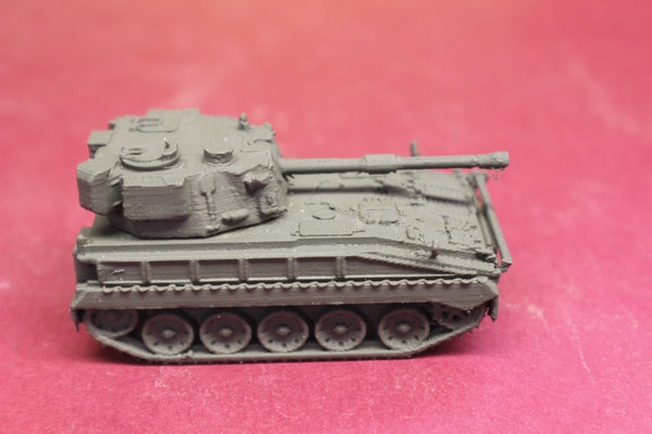 "1-87TH SCALE 3D PRINTED BRITISH POST WAR VICKERS FV433 FIELD ARTILLERY, SELF-PROPELLED ""ABBOT"""