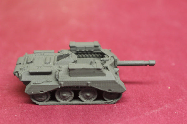 1-87TH SCALE 3D PRINTED WWII BRITISH ALECTO SELF PROPELLED GUN