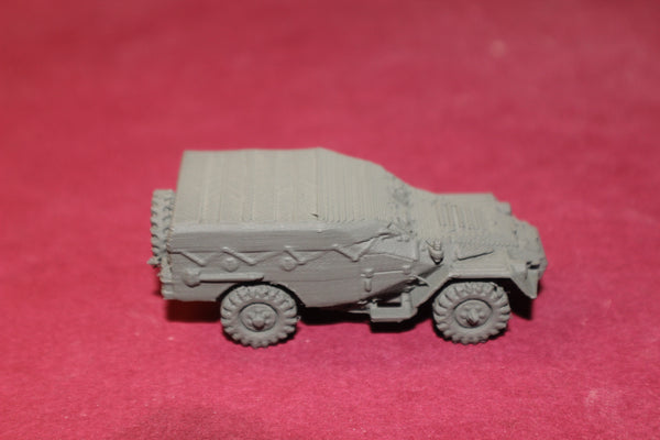 1/72ND SCALE 3D PRINTED VIETNAM WAR NORTH VIETNAMESE BTR 40 APC CLOSED