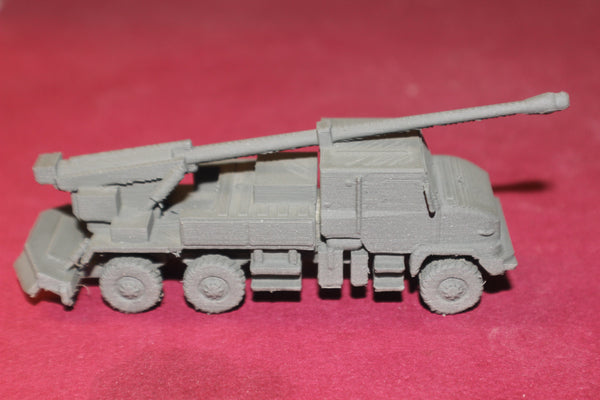 1/87TH SCALE 3D PRINTED AFGANISTAN WAR FRENCH CAESAR SELF-PROPELLED HOWITZER