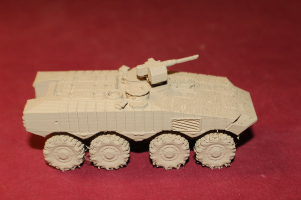 1-87TH SCALE 3D PRINTED ISRAELI EITAN 8X8 ARMOURED FIGHTING VEHICLE