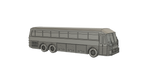 HO SCALE 3D PRINTED 1972 EAGLE 05 TRAILWAYS BUS