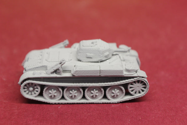 1-72ND SCALE 3D PRINTED WW II GERMAN PANZER II AUSF D/E. PANZER II FLAMM