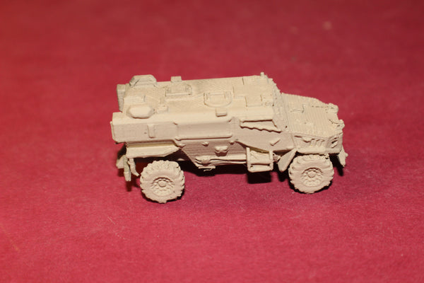 1-72ND SCALE 3D PRINTED BRITISH FOXHOUND ARMORED VEHICLE MRAP
