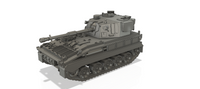 1-87TH SCALE 3D PRINTED UK COLD WAR FV433 ABBOT 105MM SELF-PROPELLED FIELD ARTILLERY