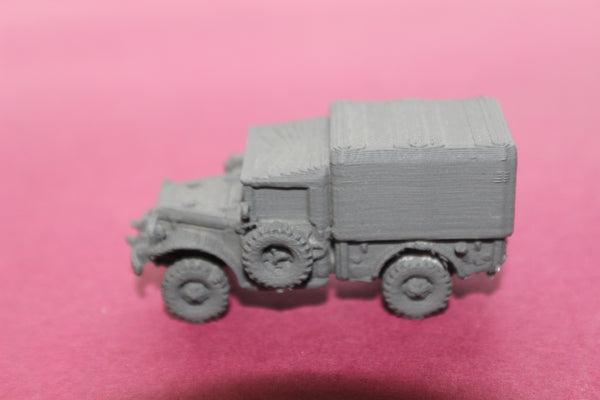 1-87TH SCALE 3D PRINTED KOREAN WAR DODGE M37-B TRUCK-COVERED