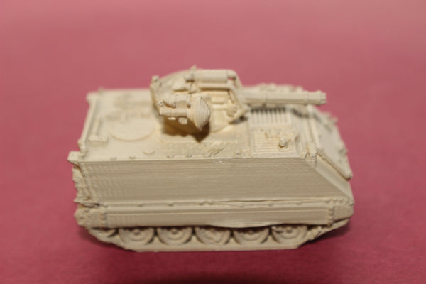 1-87TH SCALE 3D PRINTED GULF WAR U S ARMY M163 VULCAN AIR DEFENSE SYSTEM (VADS)
