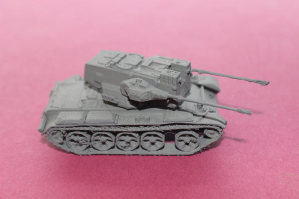 1-72ND SCALE 3D PRINTED JAPANESE TYPE 87 SELF-PROPELLED ANTI AIRCRAFT GUN