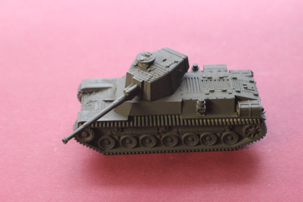 1-72ND SCALE 3D PRINTED WW II JAPANESE TYPE 4 CHI-TO HEAVY TANK KIT