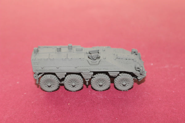 1-72ND SCALE 3D PRINTED DUTCH DAF YP-408 8X8 ARMORED PERSONNEL CARRIER OPEN