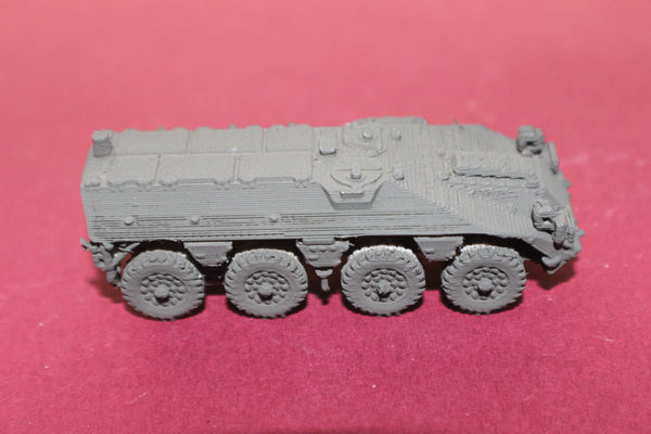 1-72ND SCALE 3D PRINTED DUTCH DAF YP-408 8X8 ARMORED PERSONNEL CARRIER CLOSED