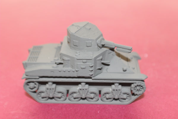 1-72ND SCALE 3D PRINETED WW II U.S. ARMY M2 MEDIUM TANK