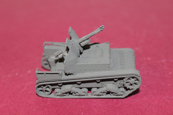 1-87TH SCALE 3D PRINTED WW II RUSSIAN SU-5 SELF PROPELLED ARTILLERY