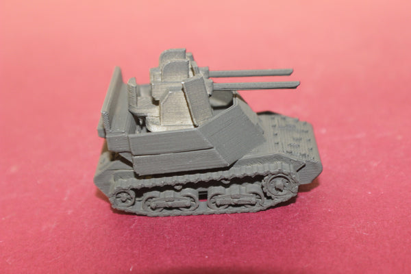 1/72ND SCALE  3D PRINTED WW II JAPANESE TYPE 98 KE-NI 20MM AAG TANK KIT