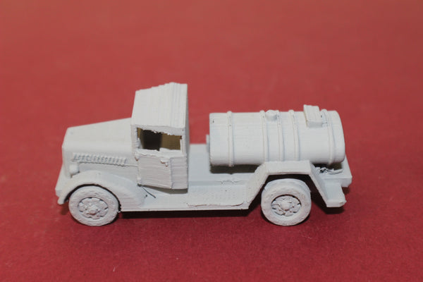 1-87TH SCALE 3D PRINTED WW II JAPANESE TYPE 97 ISUZU TANK TRUCK