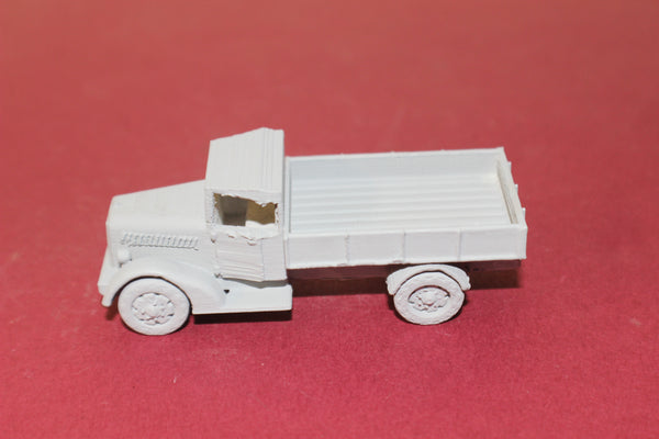 1-72ND SCALE 3D PRINTED WW II JAPANESE TYPE 97 ISUZU FLAT BED TRUCK-CLOSED CAB