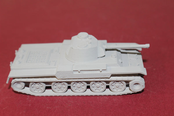 1-87TH SCALE  3D PRINTED WW II POLISH 14TP MEDIUM TANK