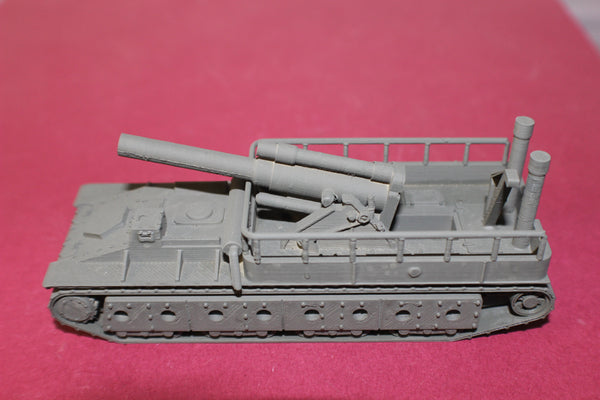 1-87TH SCALE 3D PRINTED WW II RUSSIAN SU-14 SELF PROPELLED GUN-152MM