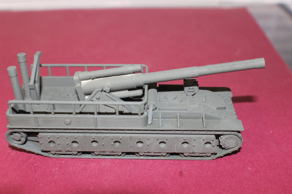 1-87TH SCALE 3D PRINTED WW II RUSSIAN SU-14 SELF PROPELLED GUN-203MM