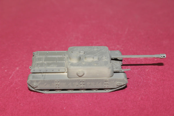 1-87TH SCALE 3D PRINTED WW II BRITISH AT 8 TANK DESTROYER