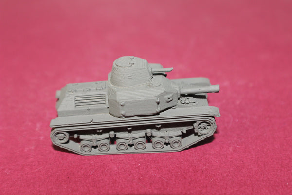 1-87TH SCALE 3D PRINTED WW II JAPANESE TYPE 92 JYU-SOKOSHA TANKETTE EARLY