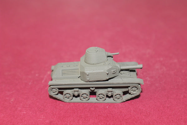 1-87TH SCALE 3D PRINTED WW II JAPANESE TYPE 92 JYU-SOKOSHA TANKETTE LATE