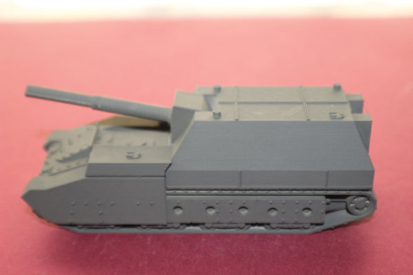 1-72ND SCALE 3D PRINTED WW II SOVIET UNION SU-14-BR-2 SELF PROPELLED GUN