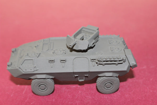 1-72ND SCALE 3D PRINTED MALAYASIAN CONDOR ARMORED PERSONNEL CARRIER WITH MINI GUN