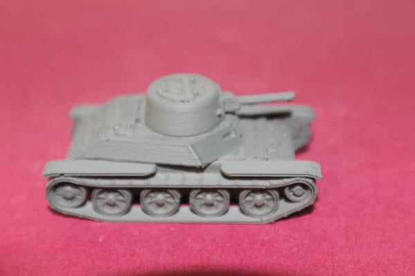 1-72ND SCALE 3D PRINTED WW II  JAPANESE TYPE  98B KE-NI LIGHT TANK