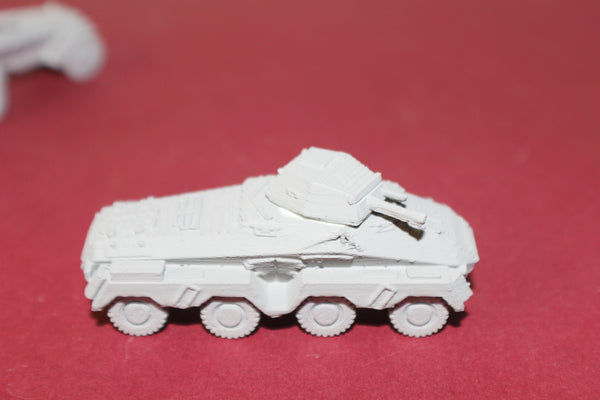 1-87TH SCALE 3D PRINTED WW II GERMAN SD.KFZ. 231 8-RAD HEAVY RECONNAISSANCE ARMORE CAR