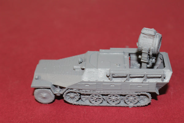 1-87TH SCALE 3D PRINTED WW II GERMAN SDKFZ 251-20 SEARCHLIGHT HALFTRACK
