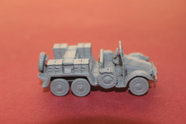 1-87 SCALE 3D PRINTED WW II GERMAN PORTZE PAK 36 GUN TRANSPORT