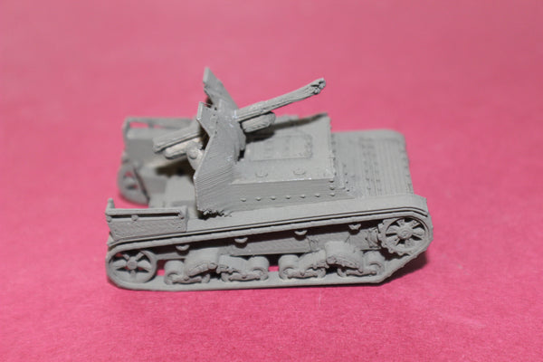 1-72ND SCALE 3D PRINTED WW II RUSSIAN SU-5 SELF PROPELLED ARTILLERY