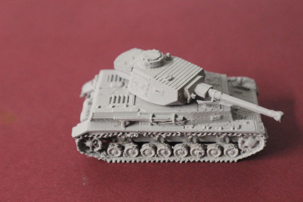1-87TH SCALE 3D PRINTED WW II GERMAN PANZER IV AUSF F2