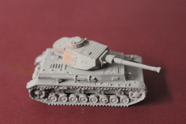 1-87TH SCALE 3D PRINTED WW II GERMAN PANZER IV AUSF G EARLY TURRET