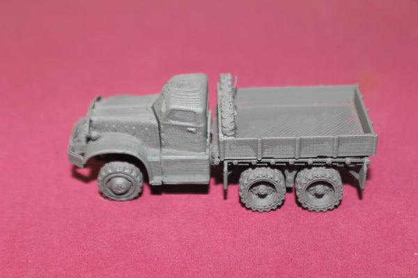 1-87TH HO SCALE 3D PRINTED WW II U.S.ARMY DIAMOND T  4 TON 6X6 OPEN TRUCK KIT