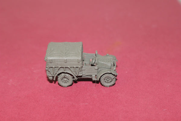 1-87TH SCALE 3D PRINTED WW II BRITISH MORRIS C8 VEHICLE DOOR CLOSED