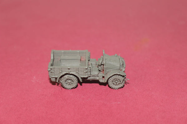 1-72ND SCALE 3D PRINTED WW II BRITISH MORRIS CS8 VEHICLE DOOR OPEN