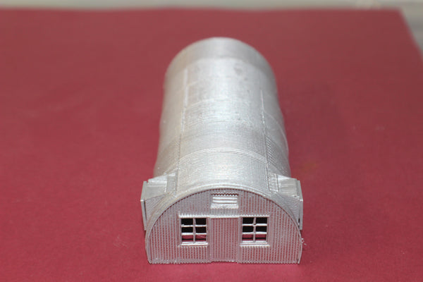 1-87TH HO SCALE 3D PRINTED WW II QUONSET HUT KIT