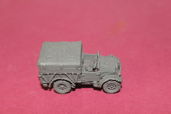 1-87TH SCALE 3D PRINTED WW II BRITISH MORRIS CS8 VEHICLE DOOR CLOSED