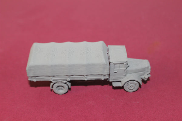 1-87TH SCALE 3D PRINTED WW II GERMAN MERCEDES L4500 TRUCK LATE CLOSED