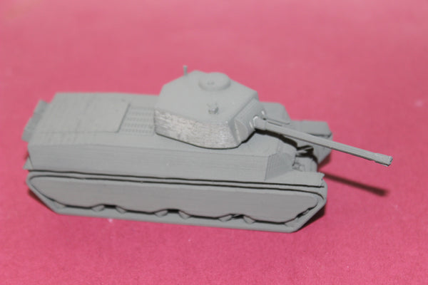 1-87TH SCALE 3D PRINTED WW II U.S. ARMY M6 HEAVY TANK 90MM GUN