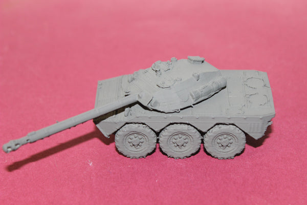 1-87TH SCALE 3D PRINTED GULF WAR FRENCH AMX 10 RC RECON VEHICLE
