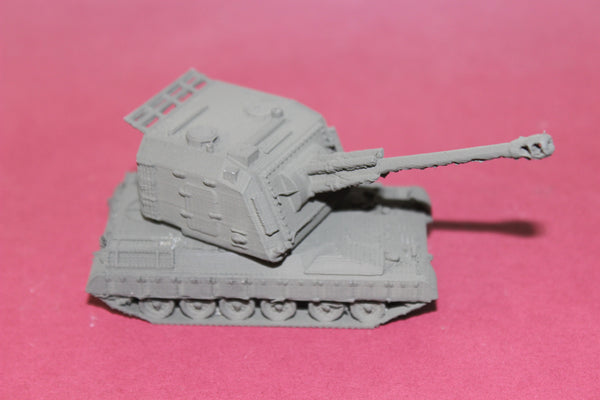 1-87TH SCALE 3D PRINTED FRENCH 155MM GCT SELF PROPELLED  HOWITIZER