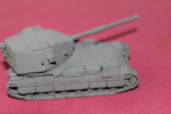 1-72ND SCALE 3D PRINTED BRITISH FV215b HEAVY TANK