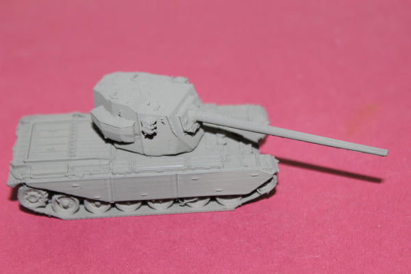1-87TH SCALE 3D PRINTED BRITISH FV 4004 CONWAY SELF PROPELLED GUN 122 MM